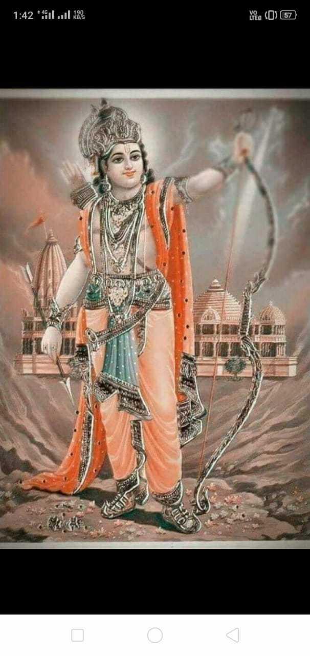 जय श्री राम - 1 : 42 All ll 98 ( 57 ) ( 0 ) م - ShareChat