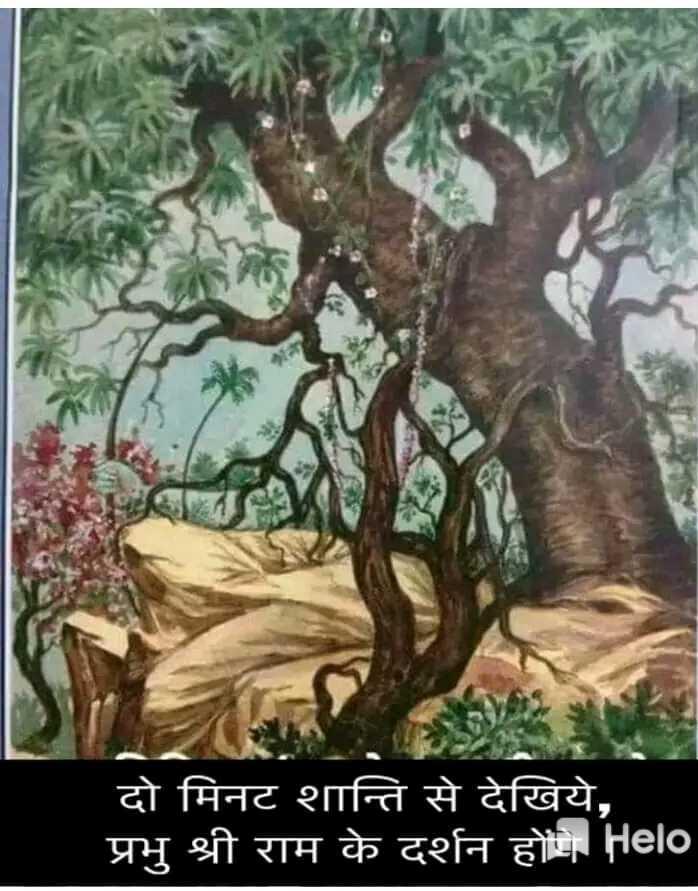 🚩🚩जय श्री राम🚩🚩 - NA दो मिनट शान्ति से देखिये , प्रभु श्री राम के दर्शन हो - ShareChat