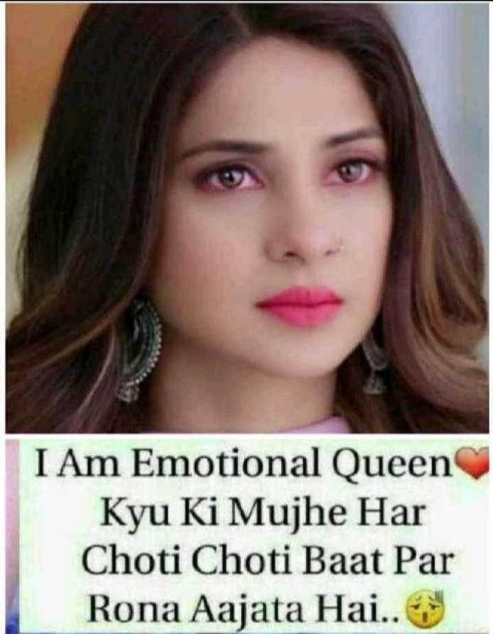 👸जेनिफर विंगेट: बेहद 2🔥 - I Am Emotional Queen Kyu Ki Mujhe Har Choti Choti Baat Par Rona Aajata Hai . . - ShareChat