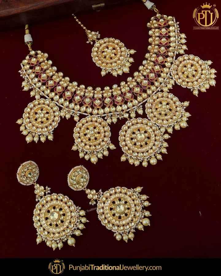 📿ज्वेलरी डिजाइन - Punjabi TraditionalJewellery . com - ShareChat