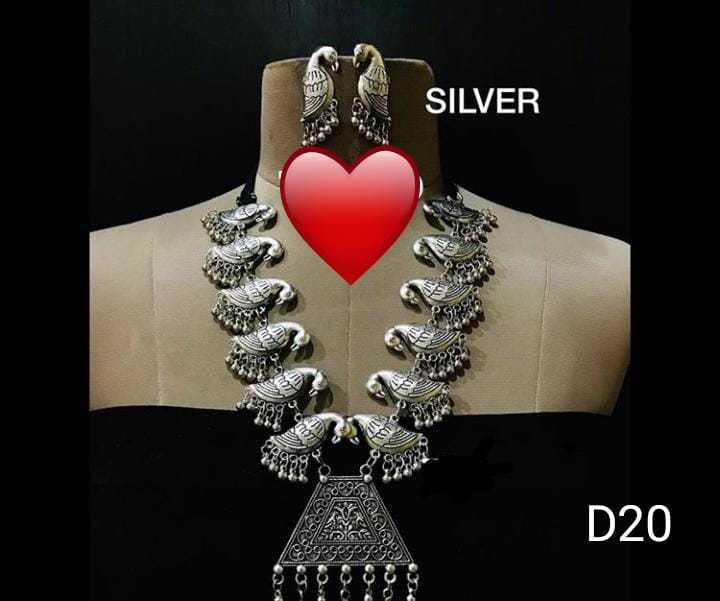 📿ज्वेलरी डिजाइन - SILVER OY D20 Vogogogosege mc 83 Code - ShareChat