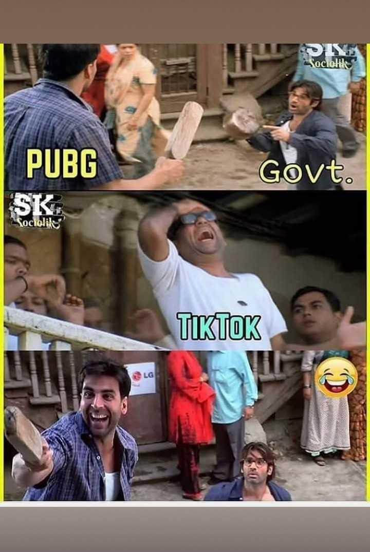 टिक टॉक - Sociolil PUBG Govt . TIKTOK LG - ShareChat