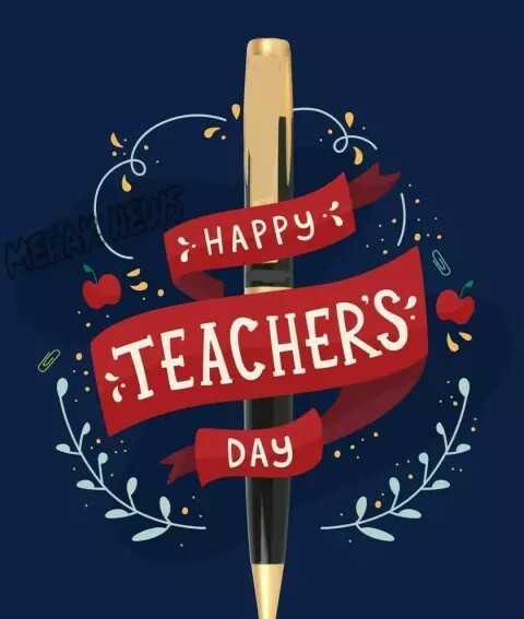 😊टीचर्स डे यादें - : HAPPY P TEACHER ' S DAY - ShareChat