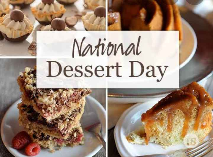 🍨डिजर्ट डे - National Dessert Day - ShareChat