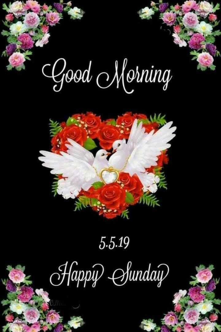 🌚दर्श अमावस्या - * * Good Morning K 5 . 5 . 19 Happy Sunday - ShareChat