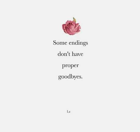 दिल के जज्बात - Some endings don ' t have proper goodbyes . - ShareChat