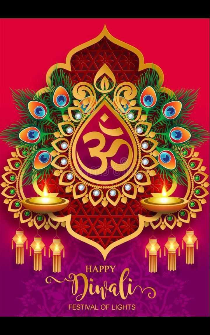 🙏 दीपावली शुभकामनायें - HAPPY Diwalin FESTIVAL OF LIGHTS - ShareChat