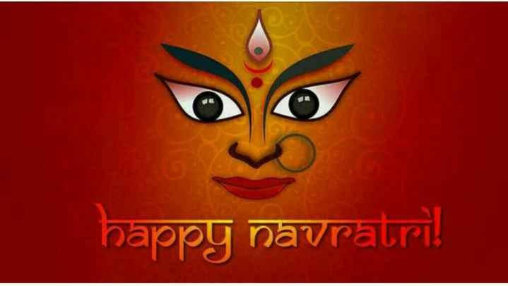 📜 नवराञ बॅनर्स - happy navratri - ShareChat