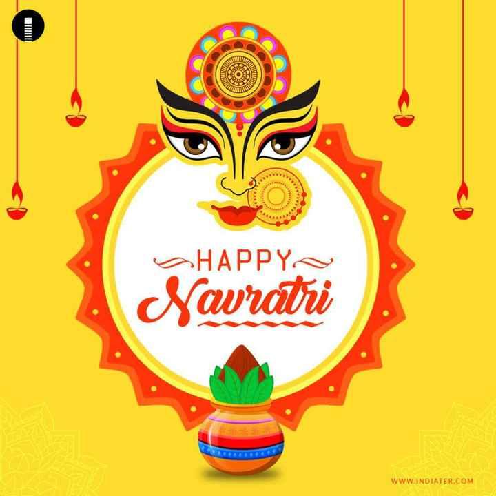 नवरात्रि शुभकामनाएं - WW OHAPPY Savratri WWW . INDIATER . COM - ShareChat