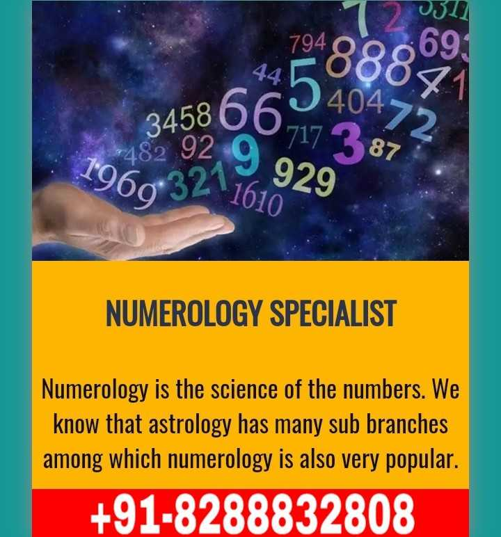 🎂नागराज मंजुळे बर्थडे - 45866 - 173877 65988009 3 * 92 9 929 1960 32 1610 NUMEROLOGY SPECIALIST Numerology is the science of the numbers . We know that astrology has many sub branches among which numerology is also very popular . + 91 - 8288832808 - ShareChat