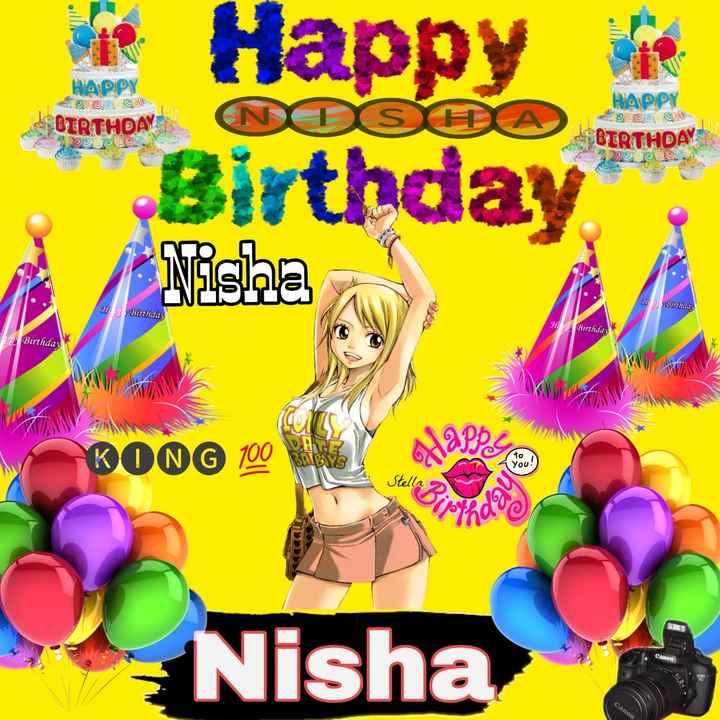 🖌नाम आर्ट - HAPPY MOSEA OIRTHDAY HAPPY | BIRTHDAY DOC BIRTHDAY Happy Birthday Nisha C . in liday Her Birthday HP Birthday 2 Birthday KONG 100 Alappus Stella Canon Nisha Canon - ShareChat