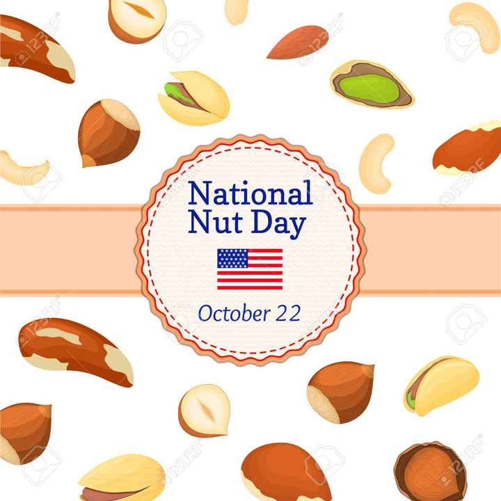 🥜नॅशनल नट डे - Eeee National Nut Day Q12RE October 22 Q2RE - ShareChat
