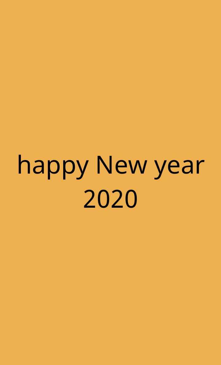 😎न्यू ईयर व्हाट्स ऐप स्टेटस💞 - happy New year 2020 - ShareChat