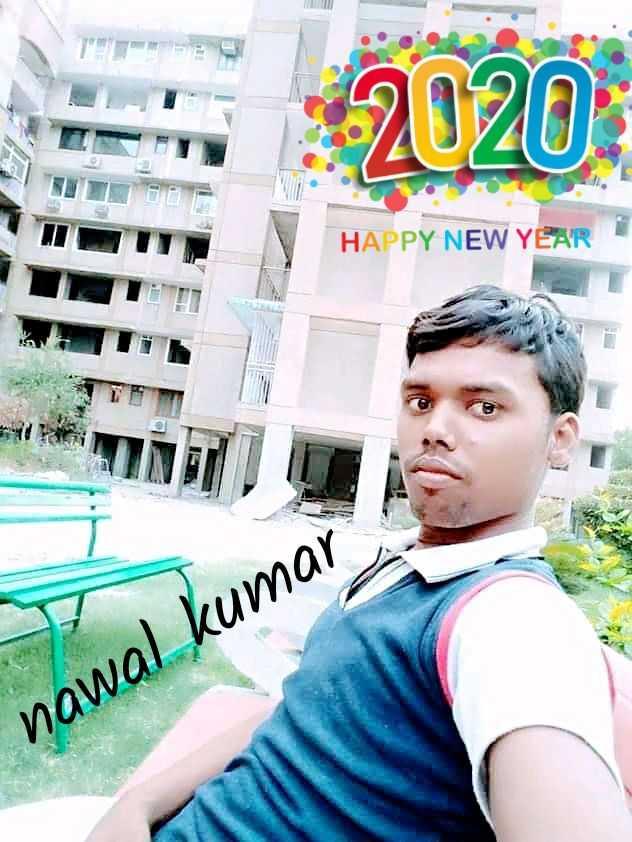 🎉न्यू ईयर सेलिब्रेशन - 2020 HAPPY NEW YEAR nawal kumar - ShareChat