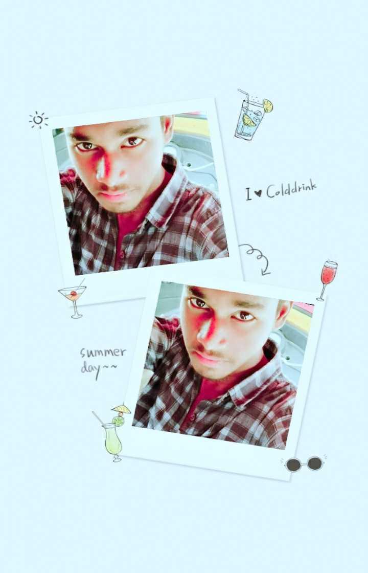 💑 पति ❤पत्नि - I Colddrink summer dayan - ShareChat