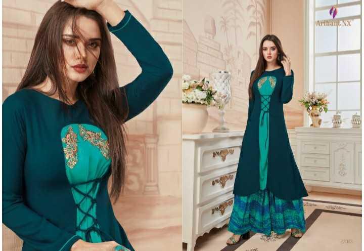 👗पार्टी ड्रेस/गाऊन/ वेस्टर्न / लँहगा/कुर्ती - Arihant NX - ShareChat