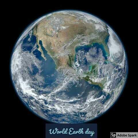 🌎पृथ्वी दिवस - World Earth day Sp Adobe Spark - ShareChat