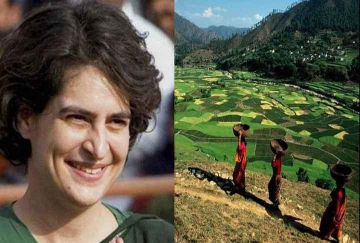 प्रियंका गांधी पहुंचीं मेरठ - ShareChat