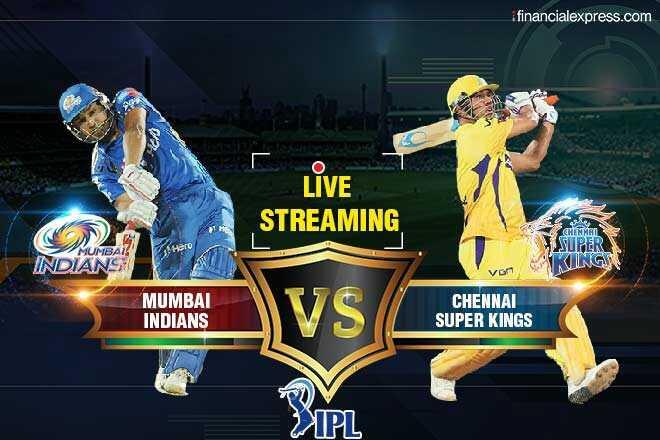 🏏 प्लेऑफ-1: MI 🔵 vs CSK 💛 - financialexpress . com LIVE STREAMING Haro SUPER KINGW INDIANS von MUMBAI INDIANS CHENNAI SUPER KINGS IPL - ShareChat