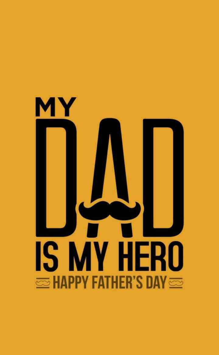 🤴फादर्स डे नेम आर्ट - MY IS MY HERO HAPPY FATHER ' S DAY - ShareChat