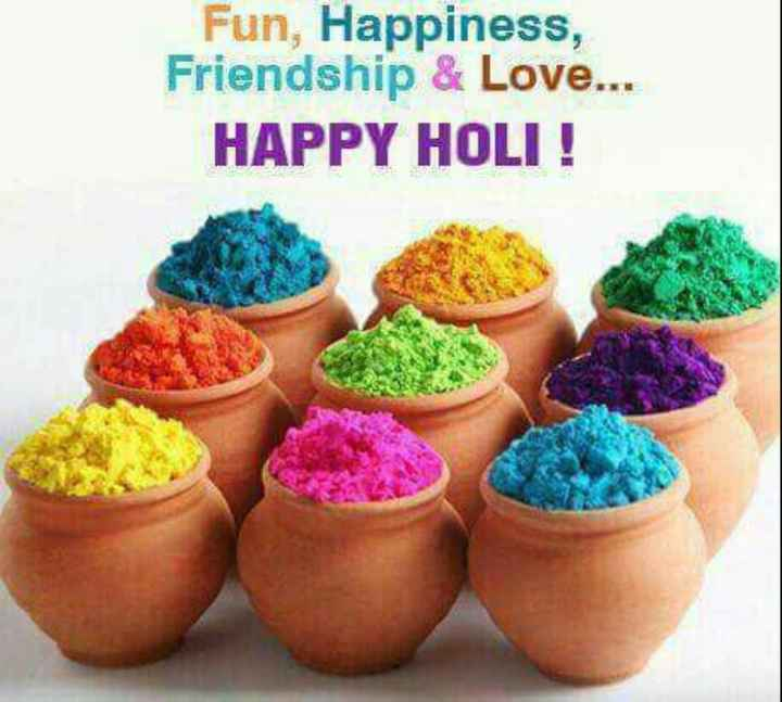 🌺फूलों की होली - Fun , Happiness , Friendship & Love . . . HAPPY HOLI ! - ShareChat