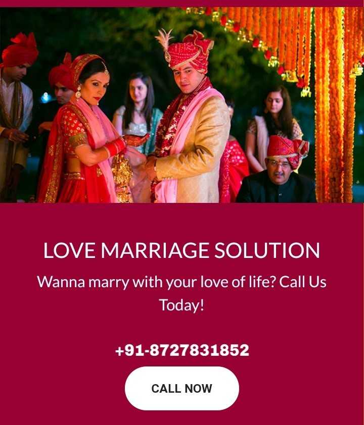 👓 फैशन टिप्स वीडियो👗 - LOVE MARRIAGE SOLUTION Wanna marry with your love of life ? Call Us Today ! + 91 - 8727831852 CALL NOW - ShareChat