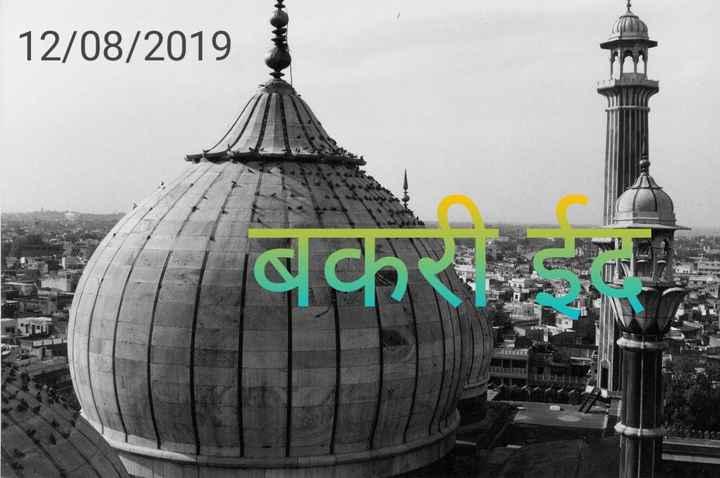 बकरी ईद - 12 / 08 / 2019 - ShareChat