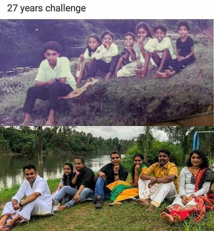 👦🏻बालपण - 27 years challenge - ShareChat