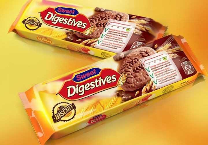 बिस्कुट दिवस - Sweet Digestives BISCUIT Digesthes was Sweet Digestives BISCUIT : Die - ShareChat