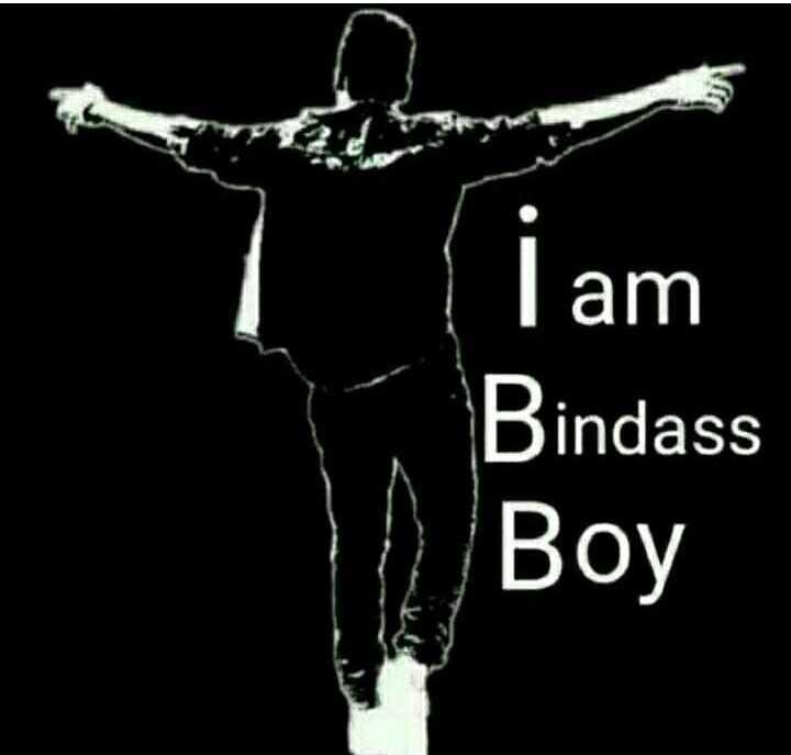 बॉयज गैंग 😎 - I am Bindass Boy - ShareChat