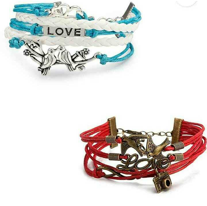 📿ब्रेसलेट डे - E LOVE - ShareChat