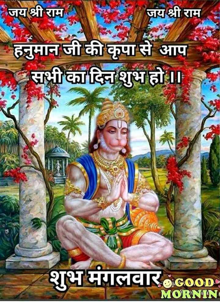 🙏 भक्ति - जय श्री राम जय श्री राम हनुमान जी की कृपा से आप सभी का दिन शुभ हो । । शुभ मंगलवार GOOD MORNIN - ShareChat
