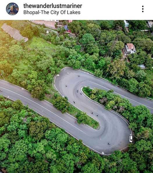 💙भोपाल - झीलों का शहर - thewanderlustmariner Bhopal - The City Of Lakes - ShareChat