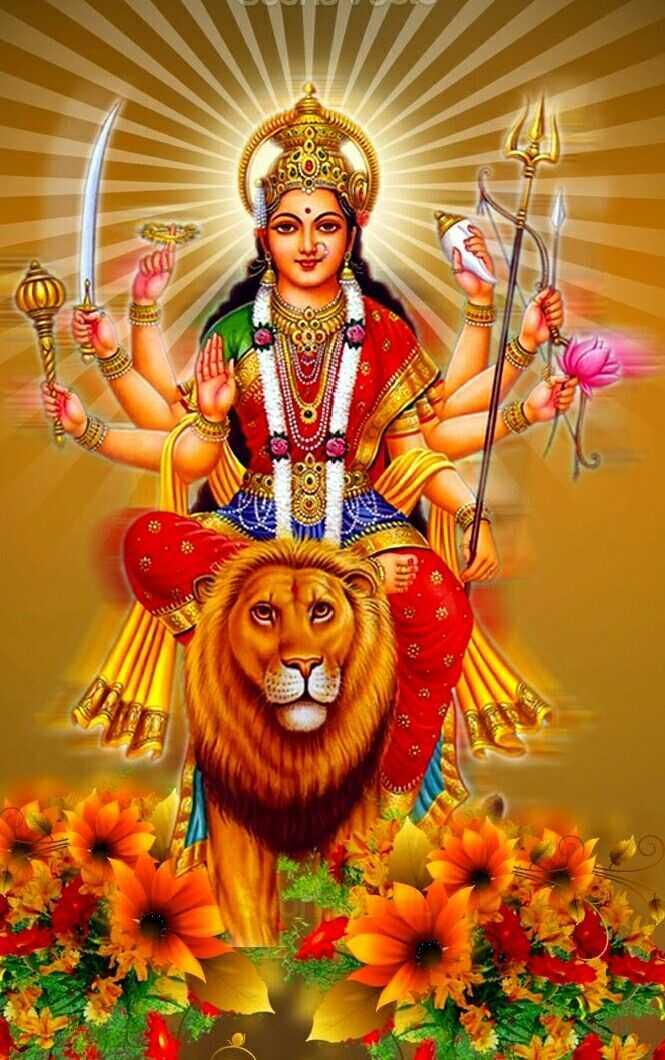🌺 मंदिर के दर्शन - JWD - ShareChat