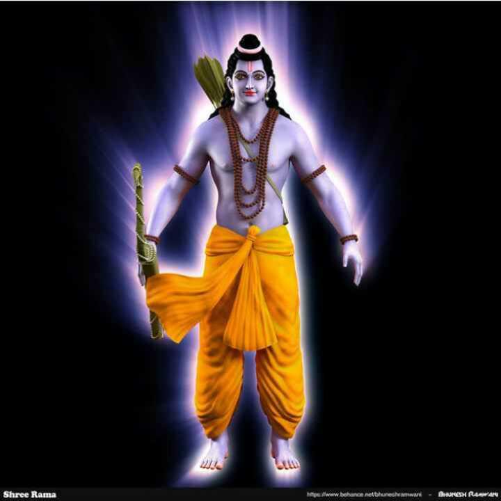 🌺 मंदिर के दर्शन - WL Shree Rama http : / www . behance netthuneshamwani - BHUNESH RAWAN - ShareChat