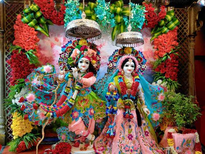 🌺 मंदिर के दर्शन - - - ShareChat