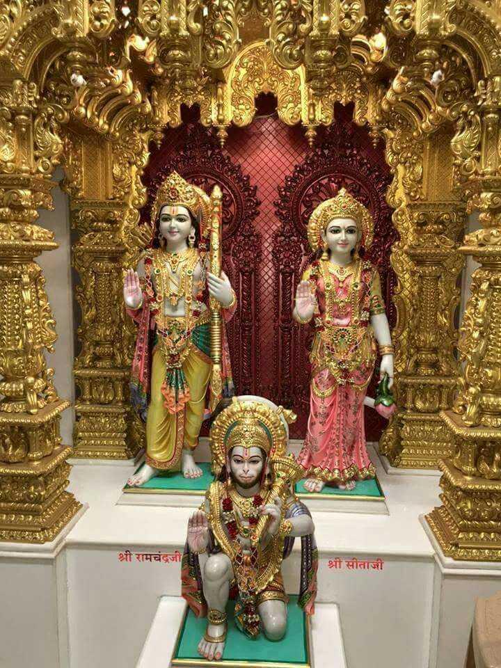 🌺 मंदिर के दर्शन - - MASA काला श्री रामचंद्रजी श्री सीताजी - ShareChat