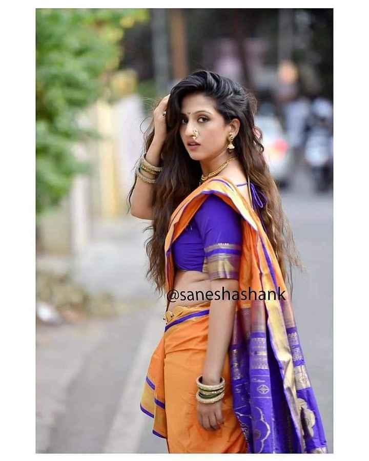 🏵मराठी सौंदर्य - @ saneshashank - ShareChat