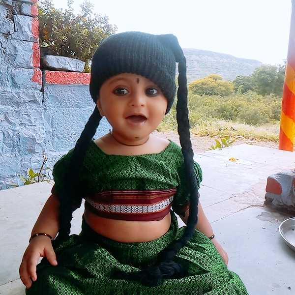 🌟 माझा जन्माष्टमी व्हिडीओ - კალიდორში . - ShareChat