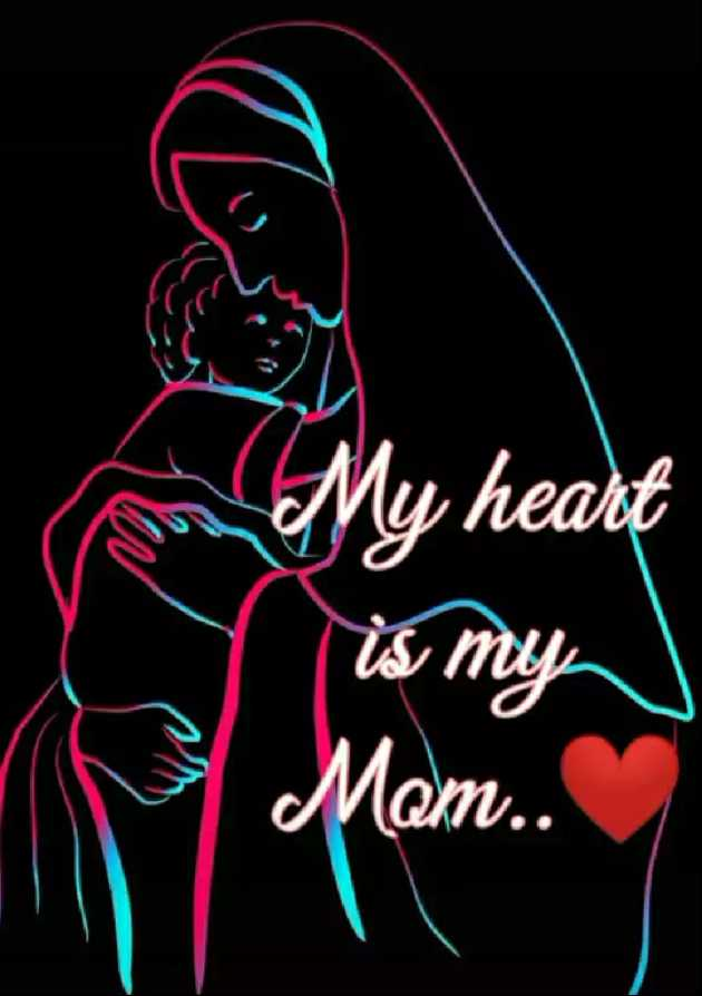 🙏🙏माता-पिता🙏🙏 - My heart is my Mam . . - ShareChat