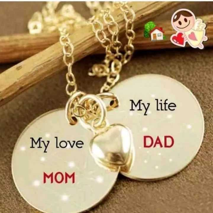 🙏माता-पिता - My life My love DAD MOM - ShareChat