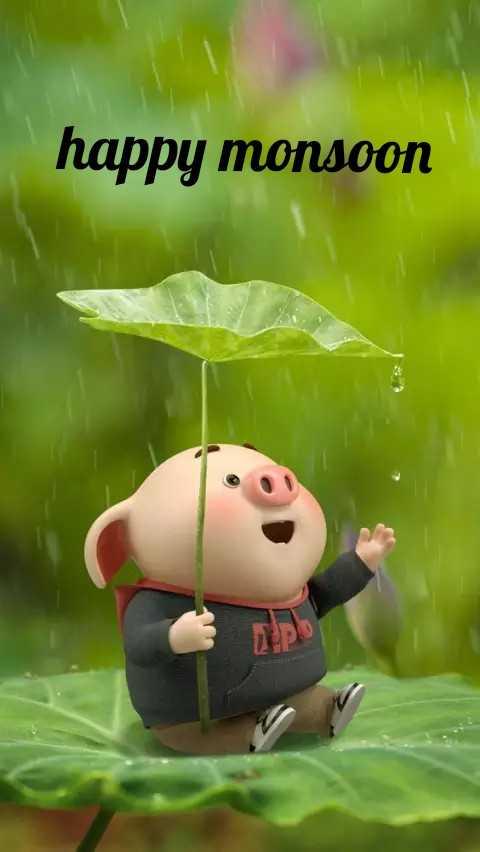 मानसून की दस्तक - happy monsoon - ShareChat