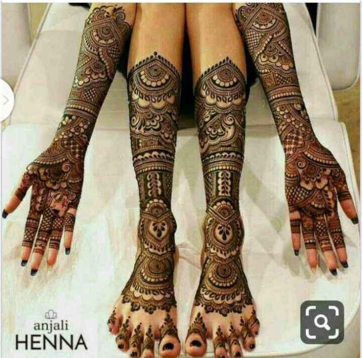 👐 मेंहदी डिजाइन - anjali HENNA - ShareChat
