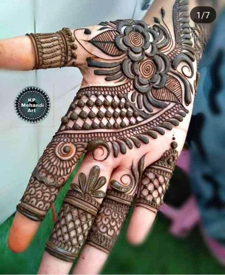 👐 मेंहदी डिजाइन - 1 / 7 KP Mehandi - ShareChat