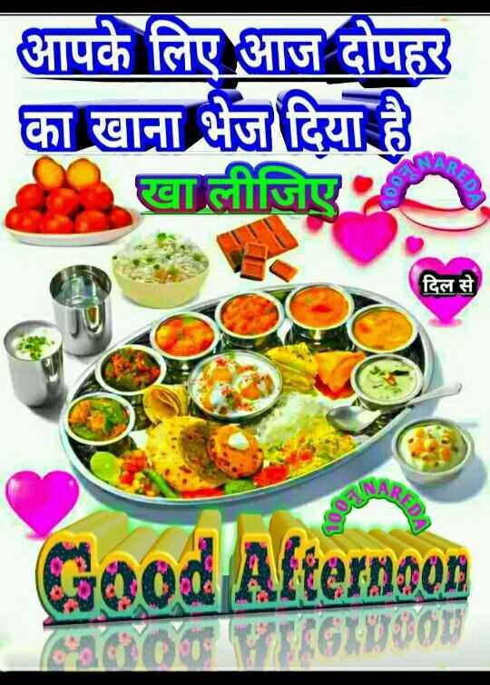 ⛱ मेरा दोपहर वीडियो - आपके लिए आज दोपहर का खाना भेज दिया है 995 GEDA दिल से Good Afternoon - ShareChat