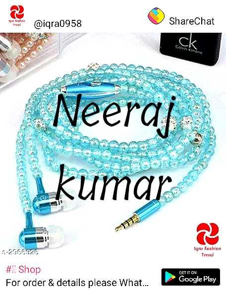 🙃मेरा मज़ेदार लुक - @ igra0958 ShareChat Neeraj hakoor kumar - - 2366 . 929 Tare Fashion Trend # 1 Shop For order & details please What . . . GET IT ON Google Play - ShareChat
