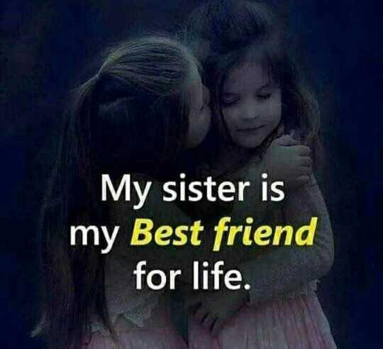 👭 मेरी प्यारी बहना - My sister is my Best friend for life . - ShareChat