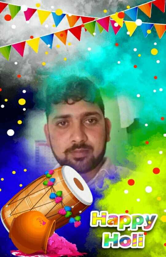 मेरे गाँव की होली के असली फोटू - Happy Holi - ShareChat