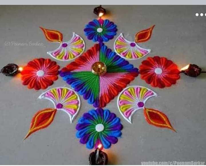 🏚 मेरे घर की रंगोली - CO Pamorar - ShareChat