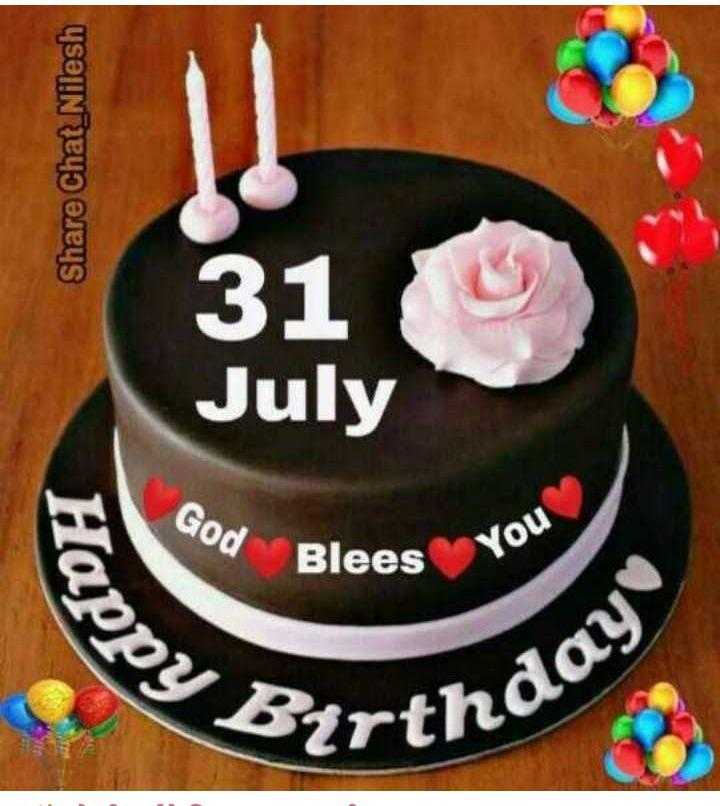 मेरे विचार - Share Chat _ Nilesh 31 July God Blees You s Happ : Birthda - ShareChat